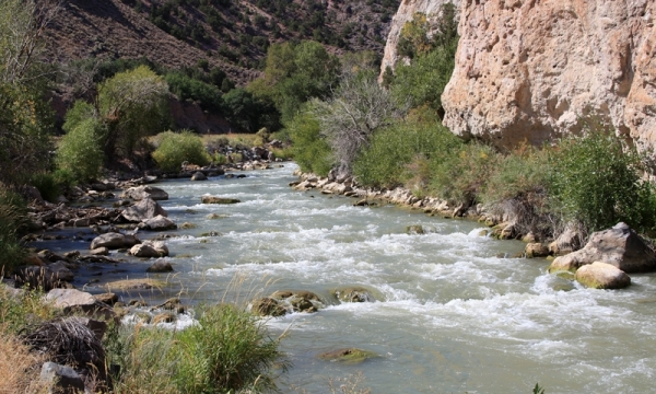 Sevier River in Marysvale Canyon
